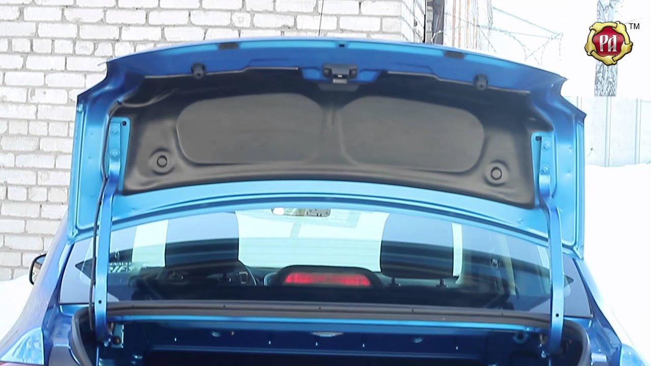 Как самому сделать багажник на рено логан