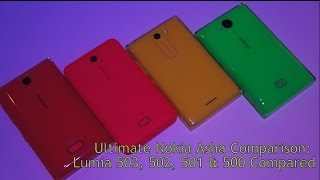 Ultimate Asha Comaprison 503 vs. 502 vs. 501 vs. 500 (MyNokiaBlog)