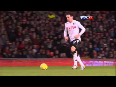 Manchester United 4-1 Fulham | The FA Cup 4th Round 2013