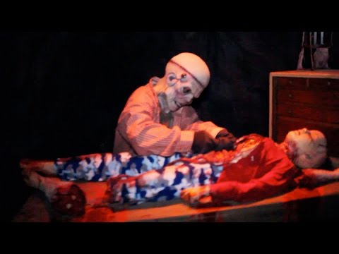 Tooth Fairy Haunted House Maze Complete Walk-Through Knotts...