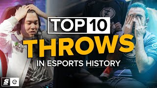 The Top 10 Throws in Esports History