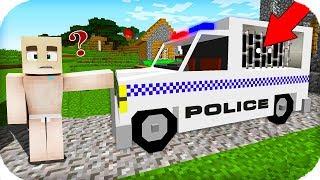 TROLL BEBEK POLİSİN 1000 YILLIK SAKLADIĞI ARABAYI BULDU! 😱 Minecraft