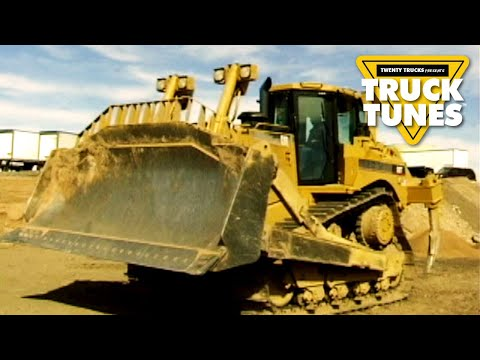 Kids DVD on Trucks - Bulldozer