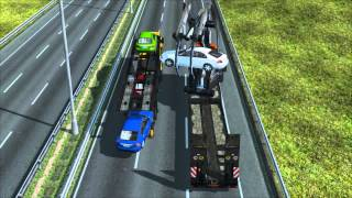 Mission - Car Stealing (Hijack White Mercedes) - Euro Truck Simulator 2