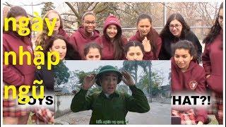 CẢM XÚC Của Người Nga Khi Xem NGÀY NHẬP NGŨ - Đỗ Duy Nam | Reaction