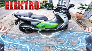 DER SCHWERSTE MONSTER ROLLER | BMW C Evolution Review - Test [Deutsch/German]