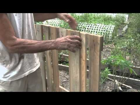 How to Build a Raised Bed Garden Using Pallets