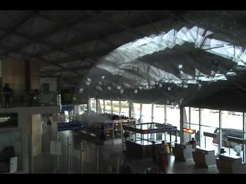 Punta Arenas Airport and Flying Whales