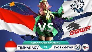 TIMNAS Asian Games AOV Vs EVOS X GGWP - Latihan tanding