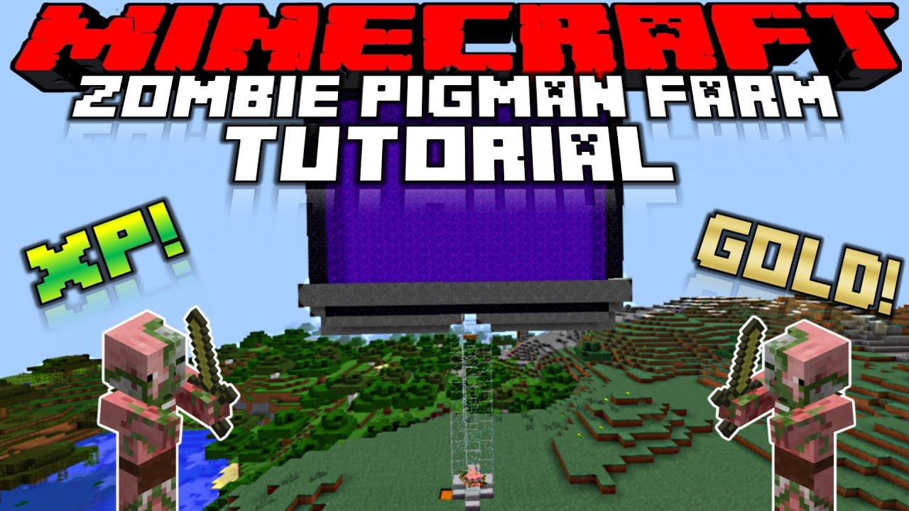 Pigman Farm Overworld Overworld Zombie Pigman