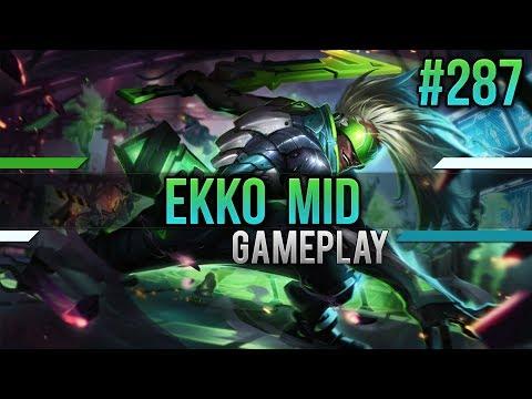 Ekko (Mid): Trauriger Silphi #287 [Lets Play] [League of Legends] [German / Deutsch]