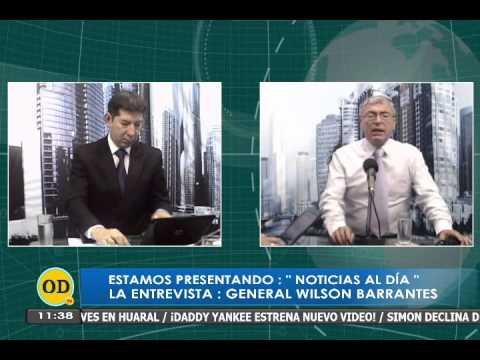 GENERAL BARRANTES EN CANAL ONDA DIGITAL TV LA ENTREVISTA, ANÁLISIS COYUNTURA AL 4 DIC 2014 I PARTE