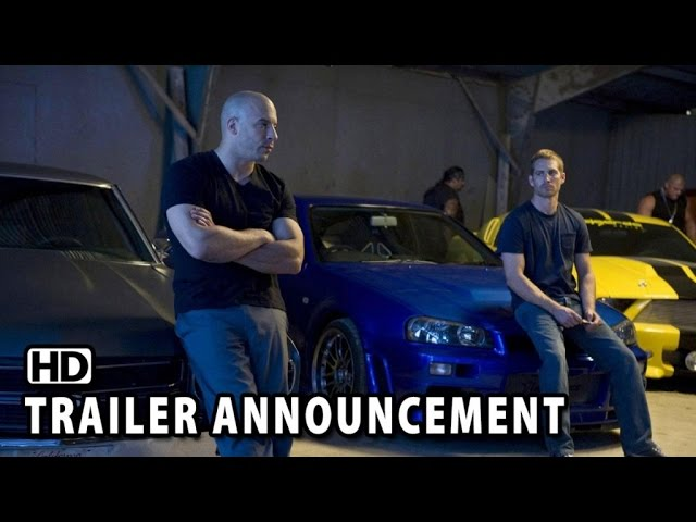 Fast & Furious 7 Trailer Announcement (2015) - Vin Diesel HD
