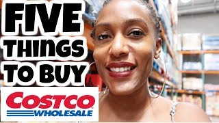 FIVE Things To Buy  at Costco / Favorite Items to buy at Costco / Shop with me at Costco