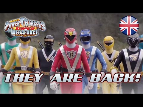 Power Rangers Super Megaforce - N3DS - They are back! (TGS 2014 Trailer)