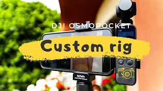 DJI osmo Pocket Rig (CaTeFo)