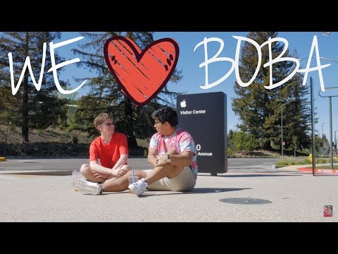 REVIEWING CUPERTINO'S #2 BOBA AT APPLE'S NEW CAMPUS