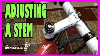 How To Adjust A Bike Stem & Handle Bars