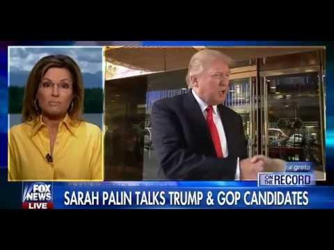 • Gov. Sarah Palin: On Immigration, it's Tough to 'trump' Trump • Greta • 8/18/15 •
