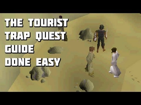Runescape 2007 – The Tourist Trap Quest Guide – Quest Guides Done Easy – Framed