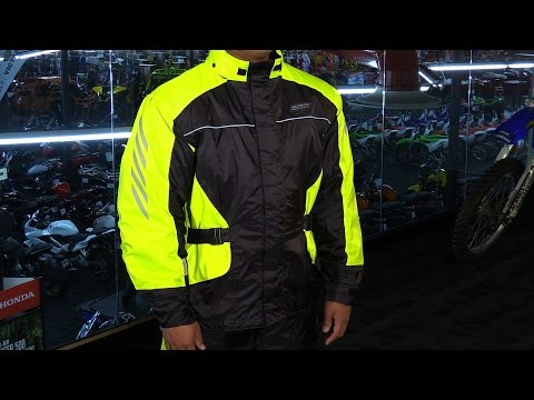 Olympia Moto Sports Horizon Motorcycle Rain Jacket. Pants Review - ChapMoto.com