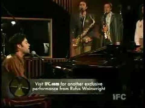 Rufus Wainwright - Going To A Town (live)