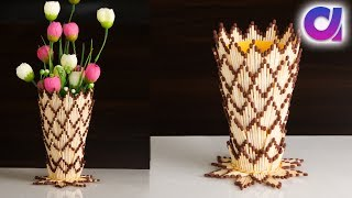 Matchsticks crafts ideas | Best out of waste idea| Matchsticks flower vase | Artkala