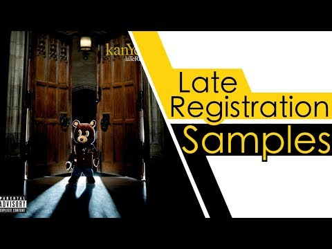 Every Sample From Kanye West's Late Registration