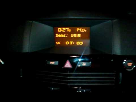 How to Access the Vauxhall CD30 mp3 Diagnostic Menu on Astra VXR