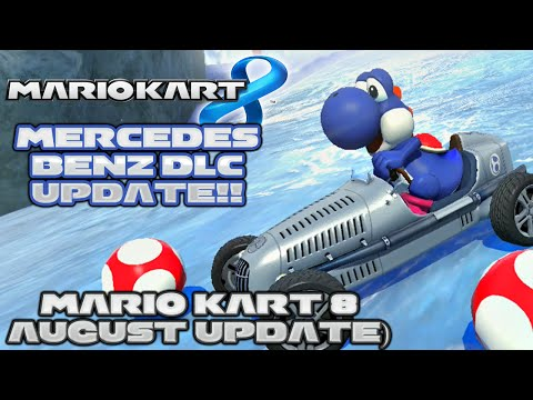 Mario Kart 8 - Mercedes Benz DLC! (8/27/14 Update Review) w/ TheKingNappy and ShadyPenguinn!!