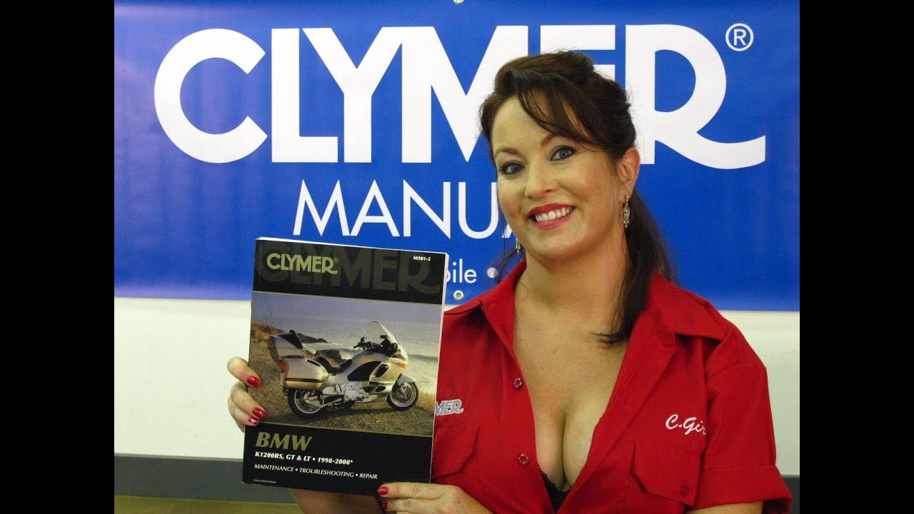 Clymer Manuals Bmw K1200rs K1200gt K1200lt K12 Maintenance
