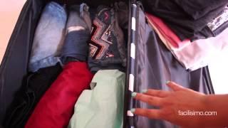 Truco para doblar camisetas para la maleta viyoutube - Truco para doblar camisetas ...
