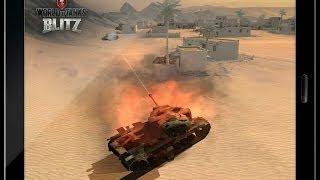 World of Tanks Blitz - Первый запуск игры)