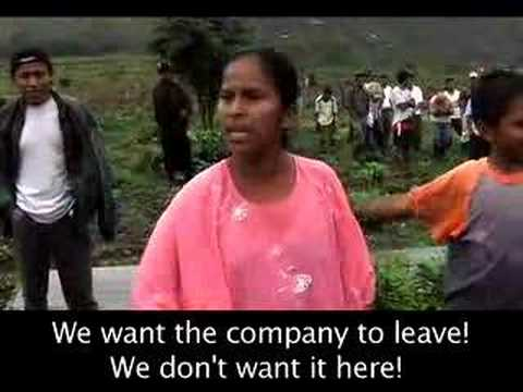 Violent Evictions at El Estor, Guatemala