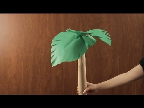 How to Make a Paper Tree : Paper Art Projects