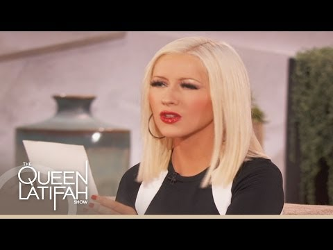 "Christina Aguilera's ""Voice"" Co-Star Impressions on The Queen Latifah Show"