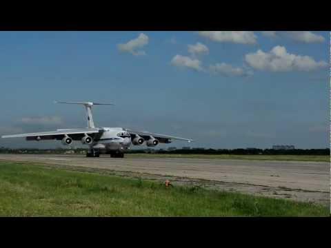 Ил-78М: посадка по-афгански