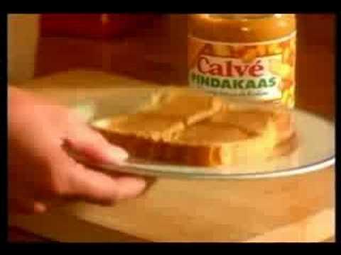 Calvé Pindakaas reclame uit de jaren 90 (2) (Nederlands)
