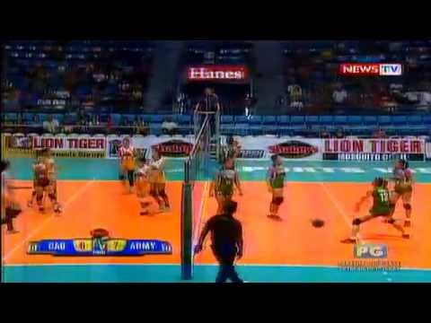 Cagayan Valley vs Philippine Army - August 11 ,2014 [ Set 1 ] Shakey's V-League Season 11