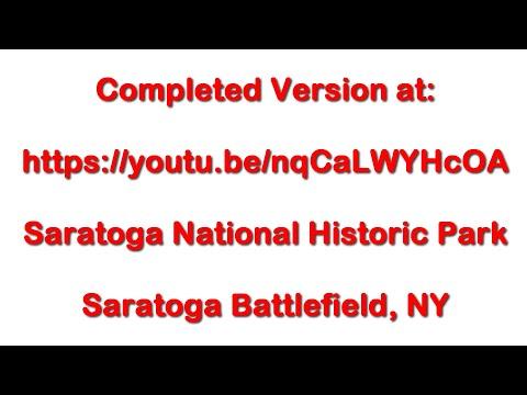 Saratoga Battlefield Bemis Heights - June 21, 2016 - Travels With Phil