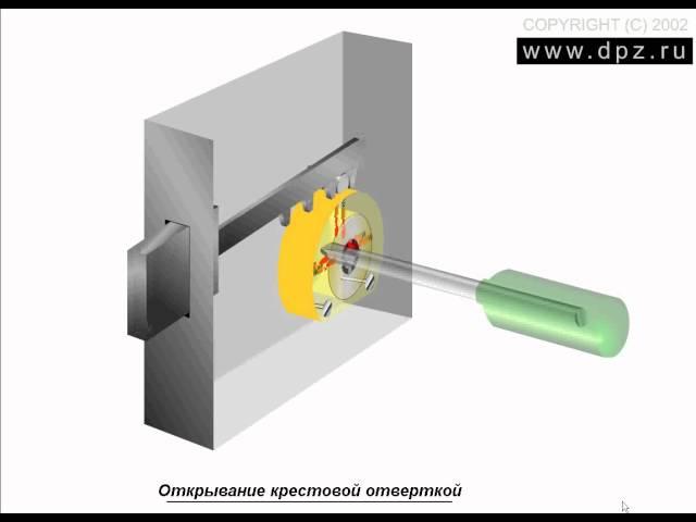 Взлом замка EURO 252 с цилиндром KALE методом бампинга. Взлом народного кр