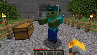 SCARY GRANNY HORROR APPEAR IN MY HOUSE AT 3AM IN MINECRAFT !! Minecraft Mods