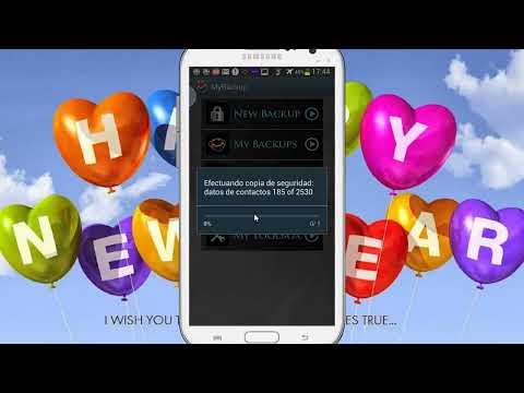 Como Hacer Un Backup ( Copia de Seguridad del Sistema de Tu Android ( MyBackup)
