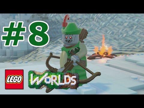 LEGO Worlds: Story Mode Walkthrough: Part 8 - Zombie Forestman
