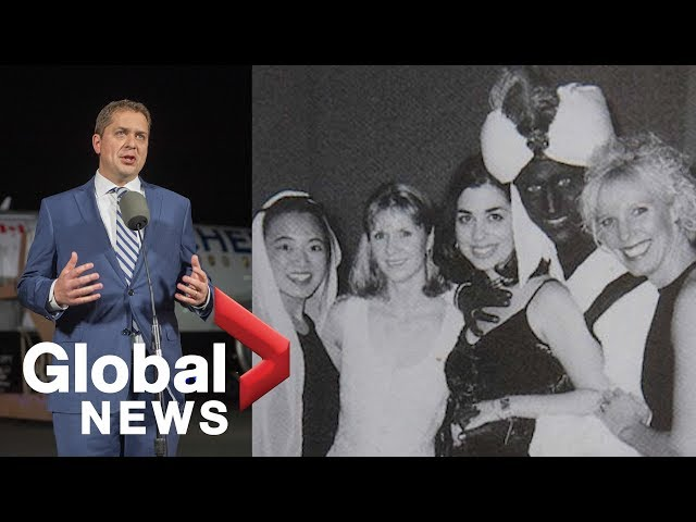 Andrew Scheer вextremely shocked and disappointedв by Trudeau brownface photo