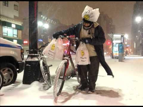 Snow storm radio story New York January 2 2014