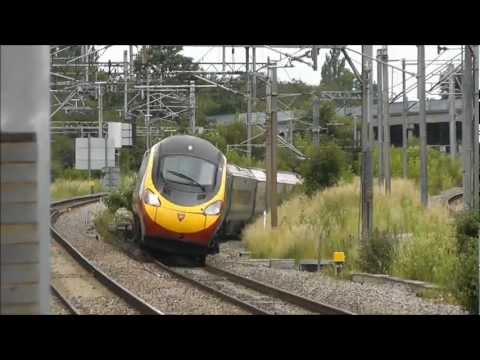 1080p HD! As my other 2, Trains at Speed videos seemed to prove so popular, I thought I'd put together a newer one, in HD! Various trains at speed (over 70mp...
