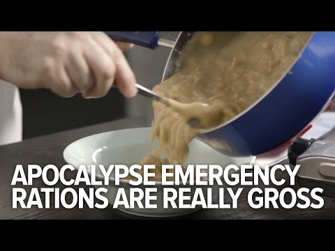 This Is What Apocalypse Emergency Food Looks Like