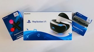 PLAYSTATION VR UNBOXING! (New Virtual Reality Headset Review)