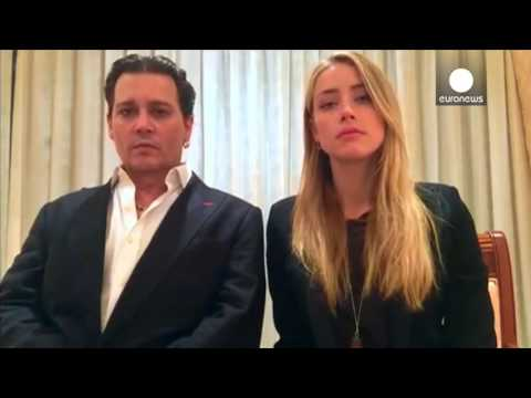 Johnny Depp and Amber Heard apologise for illegally bringing dogs to Australia